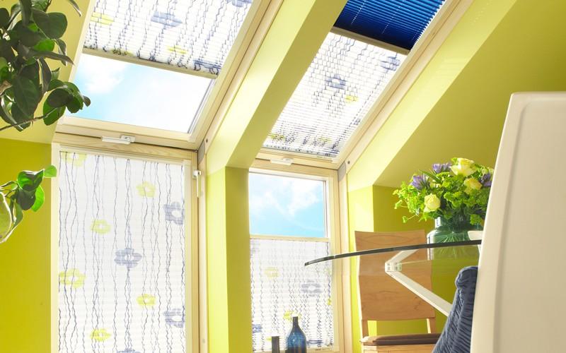 plissee in der k che cmg gardinen cmg gardinen. Black Bedroom Furniture Sets. Home Design Ideas
